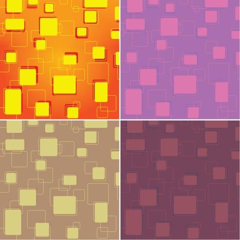 _Vector - Retro Tiles Background CS by DragonArt