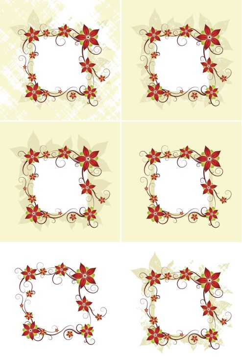 _Vector - Silk Flower Design Card CS by DragonArt