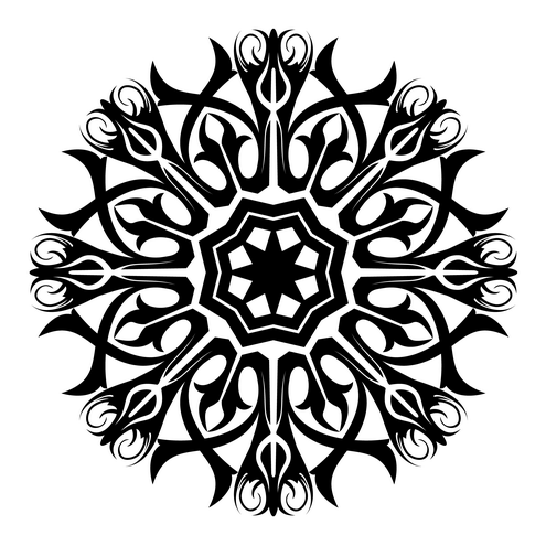 Black And White Abstract Designs Tattoo Abstract Tattoo Design in 4