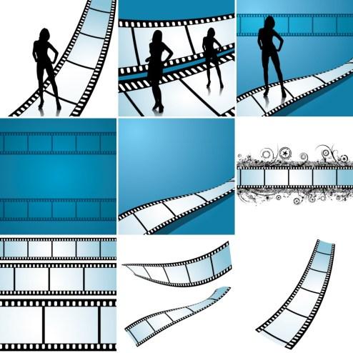 _Vector - Filmstrips CS by DragonArt