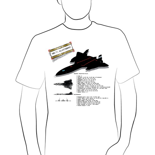 _Vector - SR-71 Blackbird Silhouette Prev by DragonArt