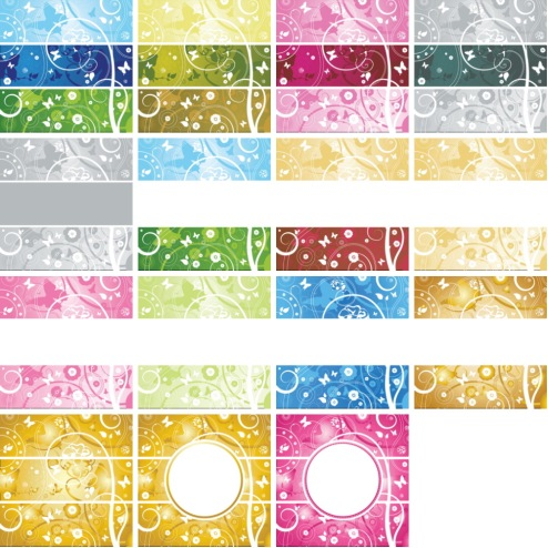 _Vector - Abstract Floral Background 3 CS by DragonArt.