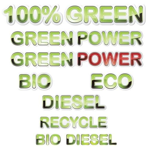 _Vector -  Ecology Stickers CS by DragonArt