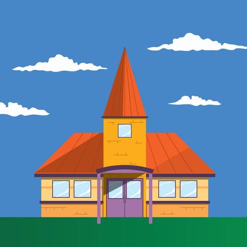 Vector - Elementary School 03 by DragonArt