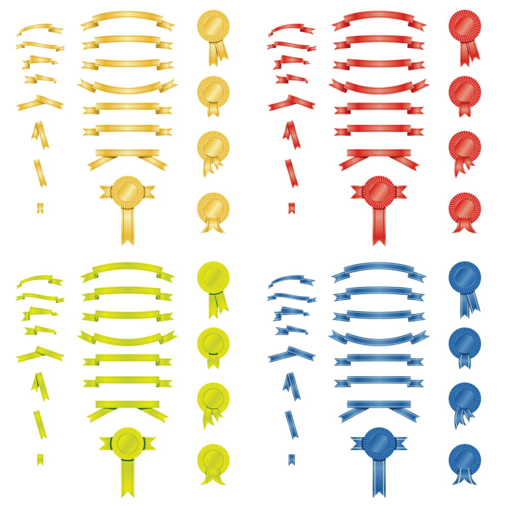 Golden Ribbons Vector   DragonArtz Designs (we moved to ...