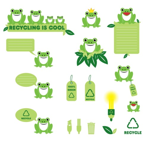 _Vector - Recycling Frog CS by DragonArt