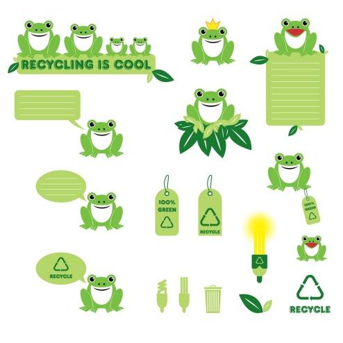 _Vector - Recycling Frog CS by DragonArt