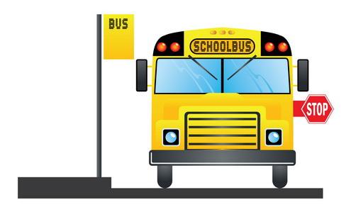 Vector - Yellow Schoolbus 04 by DragonArt