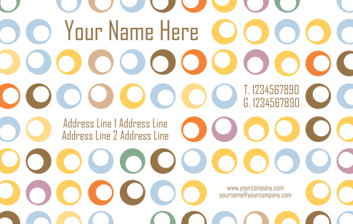 _Vector - Bubble Retro ID Cards Prev by DragonArt
