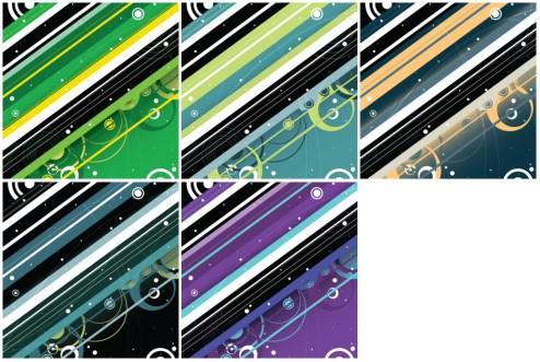 _Vector - Modern Retro Background PrevPack1 by DragonArt