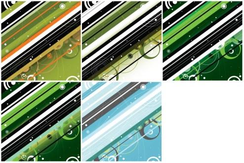 _Vector - Modern Retro Background PrevPack2 by DragonArt
