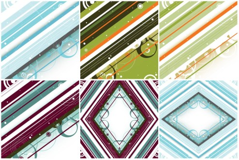 _Vector - Modern Retro Background PrevPack3 by DragonArt